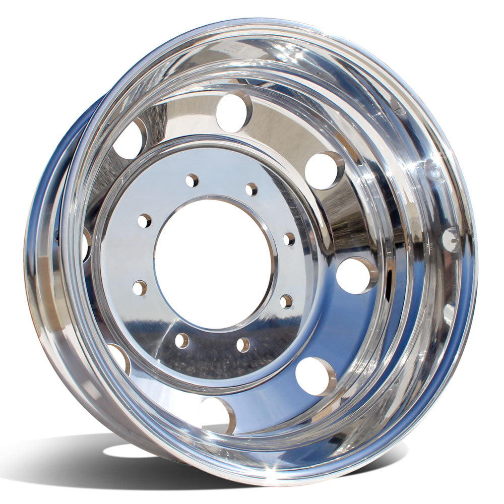 19.5x6.00 Northstar 8x225mm Hub Pilot Polished Both Sides (Ford F450/F550 1998-2004)