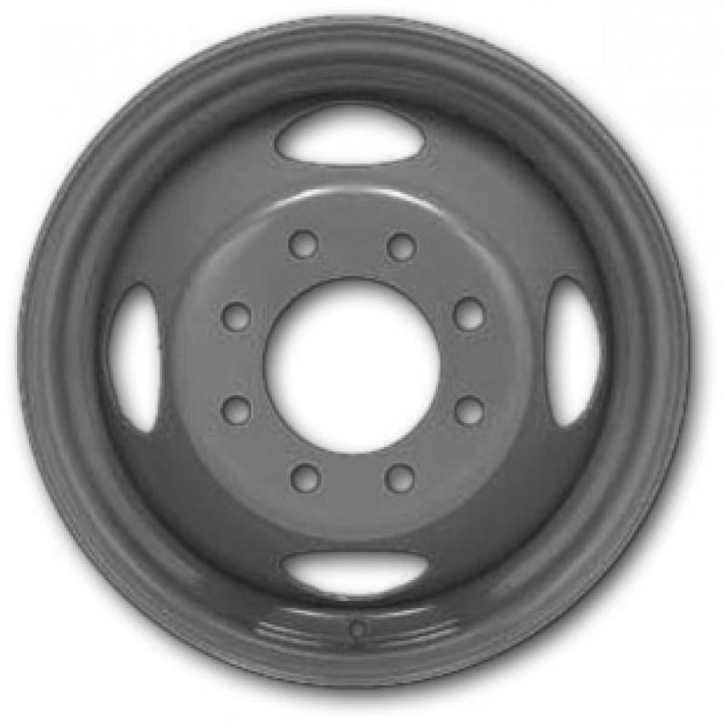 16x6 Hub-Pilot Dual 8 Hole (3/4, 1 Ton, Chevrolet/GMC Typical)