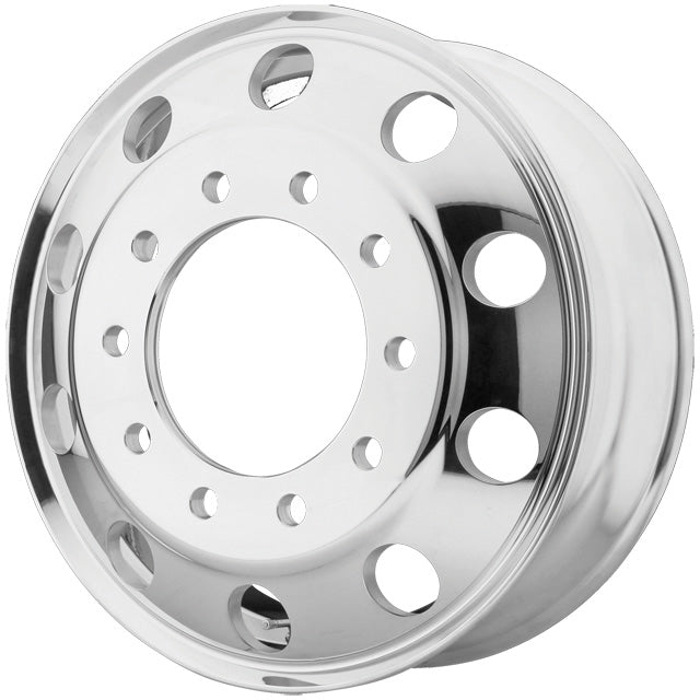 "24.5x8.25 ATX 10X285MM HUB PILOT POLISHED ""ROULETTE"" REAR"