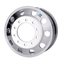 Load image into Gallery viewer, 22.5x10.50 Alcoa 10x285mm Hub Pilot (Uni-mount) Mirror Polished Front Only