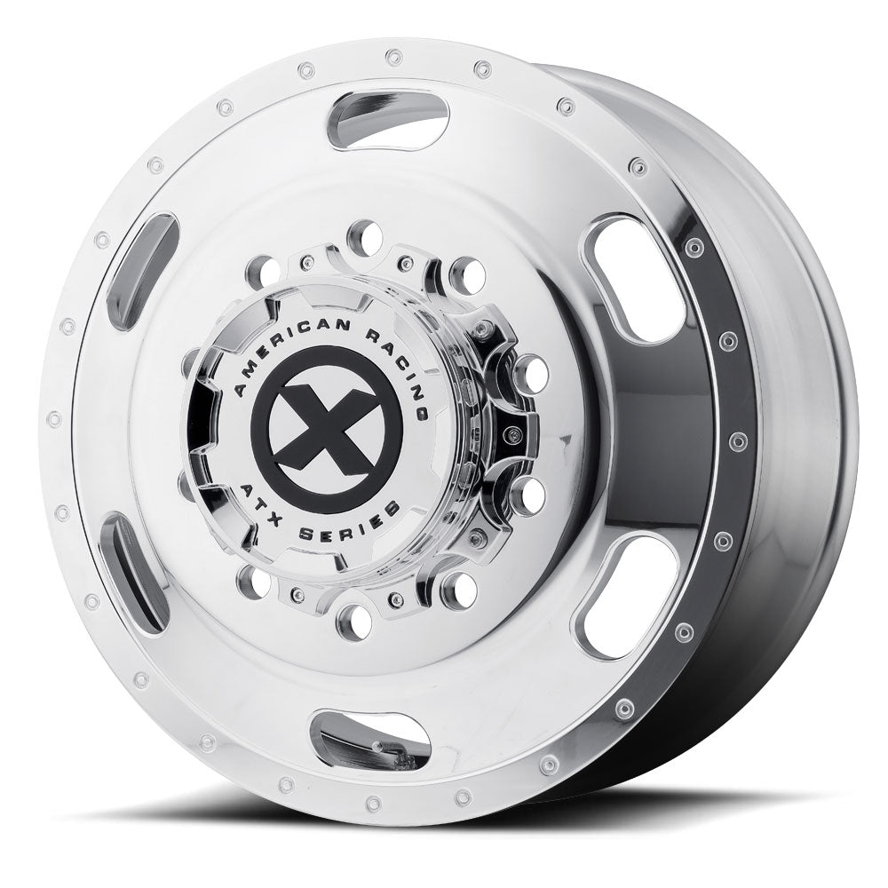 "24.5 Polished ATX Aluminum ""Indy"" Front Wheel"