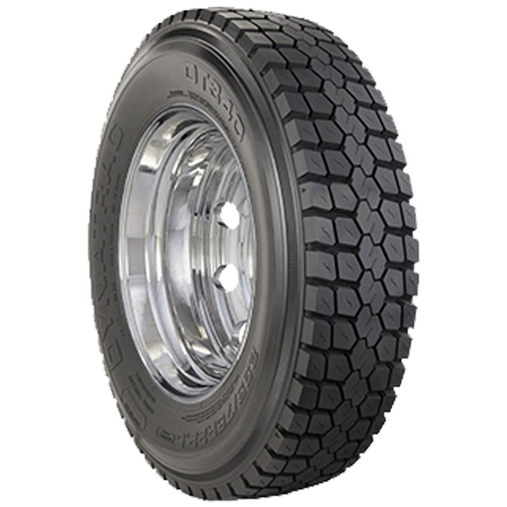"Chevy/GMC 3500 33"" DynaTrac DT340 245/70R19.5 Mounted 19.5 American Force Kit 8x6.5"