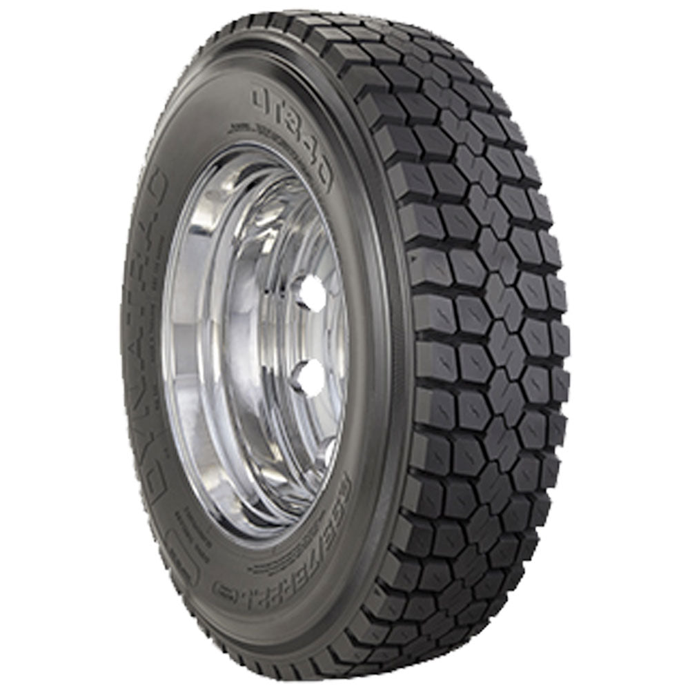"Ford F350 DynaTrac 33"" DT340 245/70R19.5 Mounted 19.5 American Force Kit 8x200"