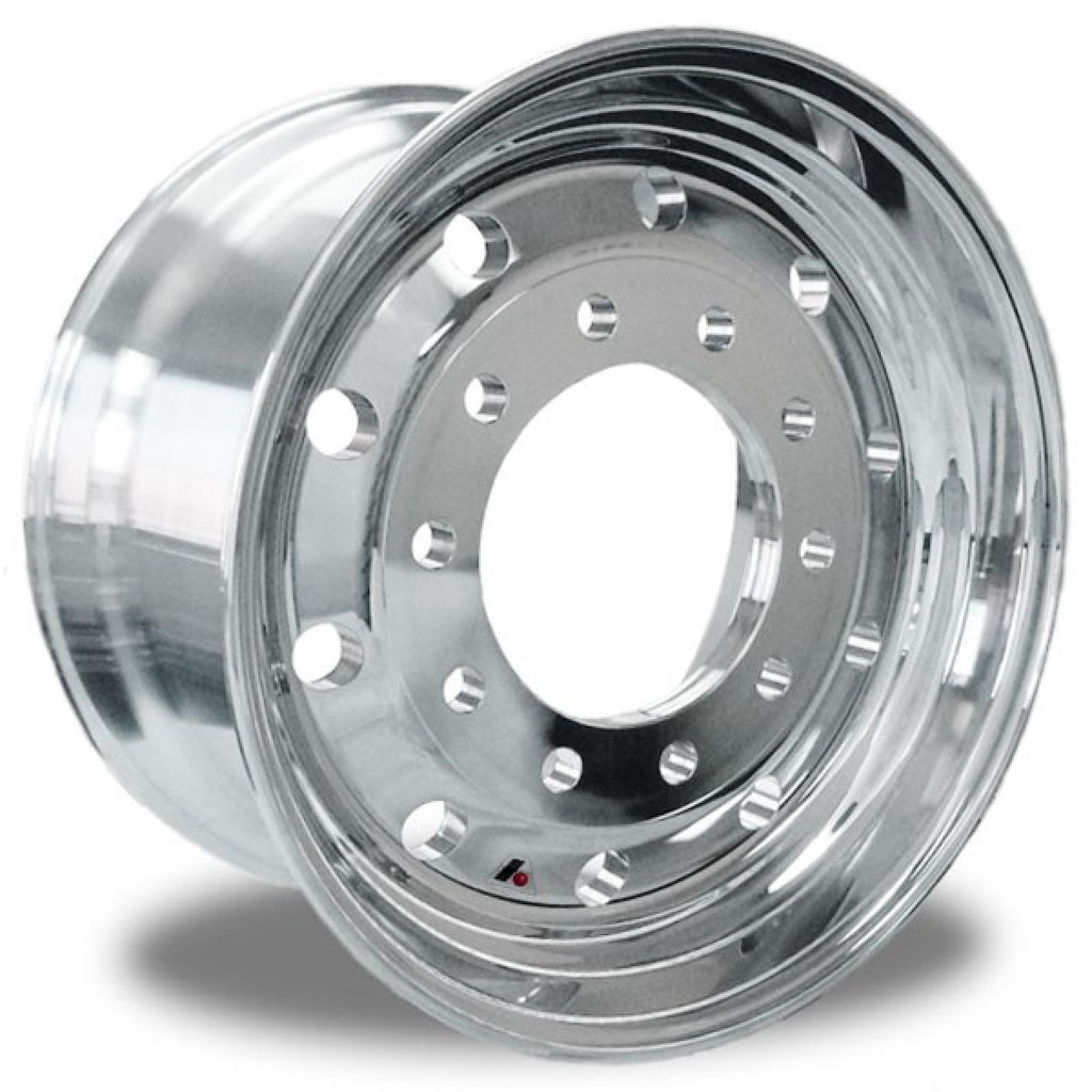 "Accuride 22.5 x 12.25"" Aluminum High Polished Wheel 2.75"" offset"