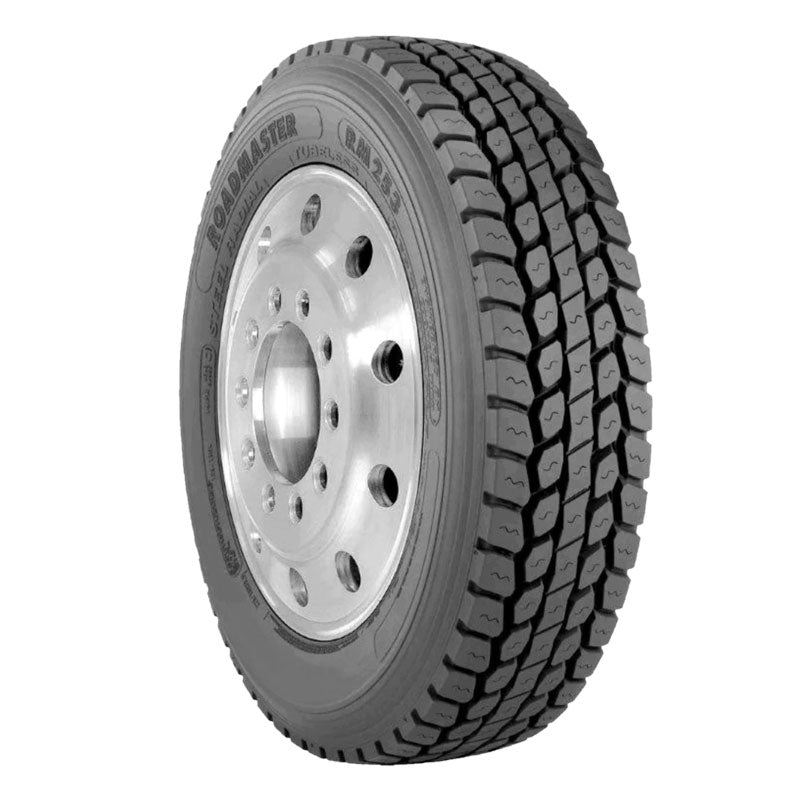 COOPER AGGRESIVE TREAD MOUNTED ON 19.5 AMERICAN FORCE CHEVY/GMC 3500 DRW 8 x 6.5 (1973-2010)