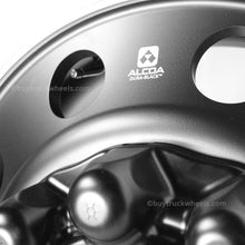 Load image into Gallery viewer, 22.5 Alcoa Dura-Black™ Aluminum 10x285mm 4 Wheel Kit