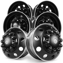 Load image into Gallery viewer, 22.5 Alcoa Dura-Black™ Aluminum 10x285mm Tandem Axle Kit