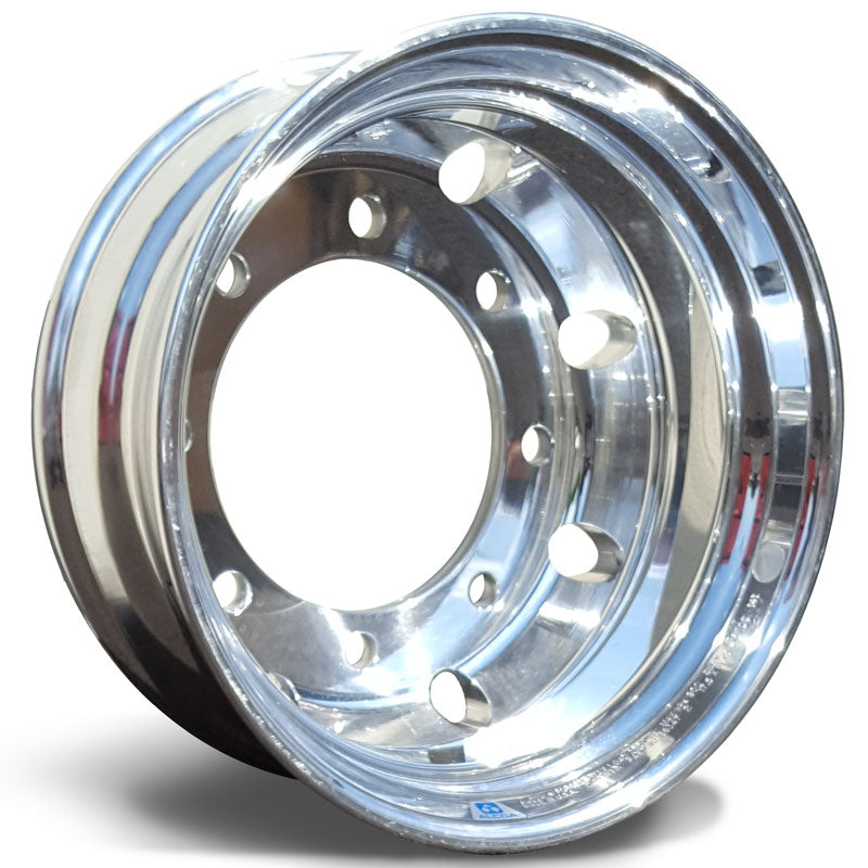 17.5x6.75 Hub Piloted 8-Lug Alcoa-Polished In (Drive/Trailer)