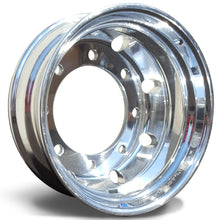 Load image into Gallery viewer, 17.5x6.75 Hub Piloted 8-Lug Alcoa-Polished In (Drive/Trailer)