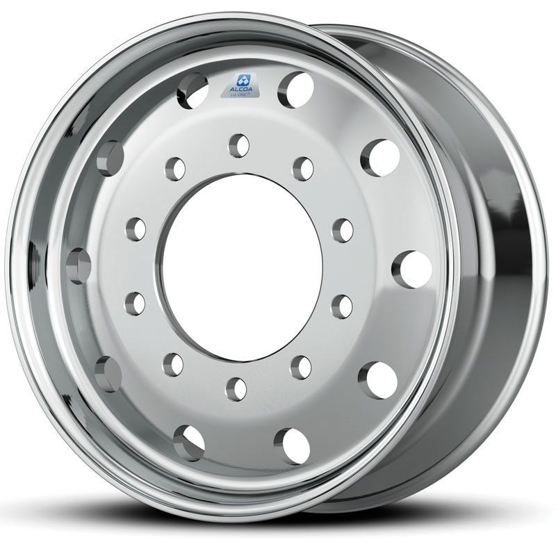 "22.5 x 12.25 Hub Pilot 10 x 285mm Alcoa Dura-Bright® 12.25 Flat Face Wheel 4.75"" offset"