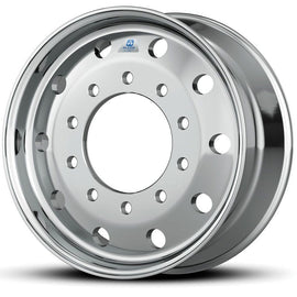 "824621DB Alcoa Dura Bright 12.25 Flat Face Wheel 4.75"" offset"