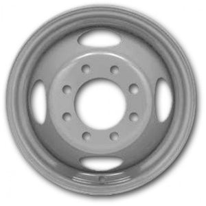 16x6.5 Hub-Pilot Dual 8 Hole (3/4 , 1 Ton, Chevrolet or GMC Typical)