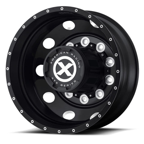"22.5 Black Aluminum ""Baja"" Wheel Kit"