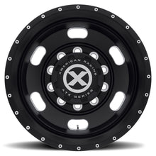 Load image into Gallery viewer, Black ATX Oval Aluminum Truck Wheel Drive Trailer Dual Outer
