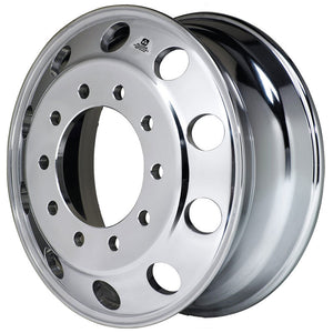 EVO Dura Bright Polished 24.5 Wheel Kit