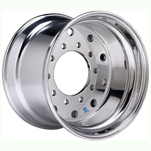 "Load image into Gallery viewer, 22.5x14 Hub Pilot X-ONE Alcoa 0"" Offset-Polished In (Drive/Trailer)"