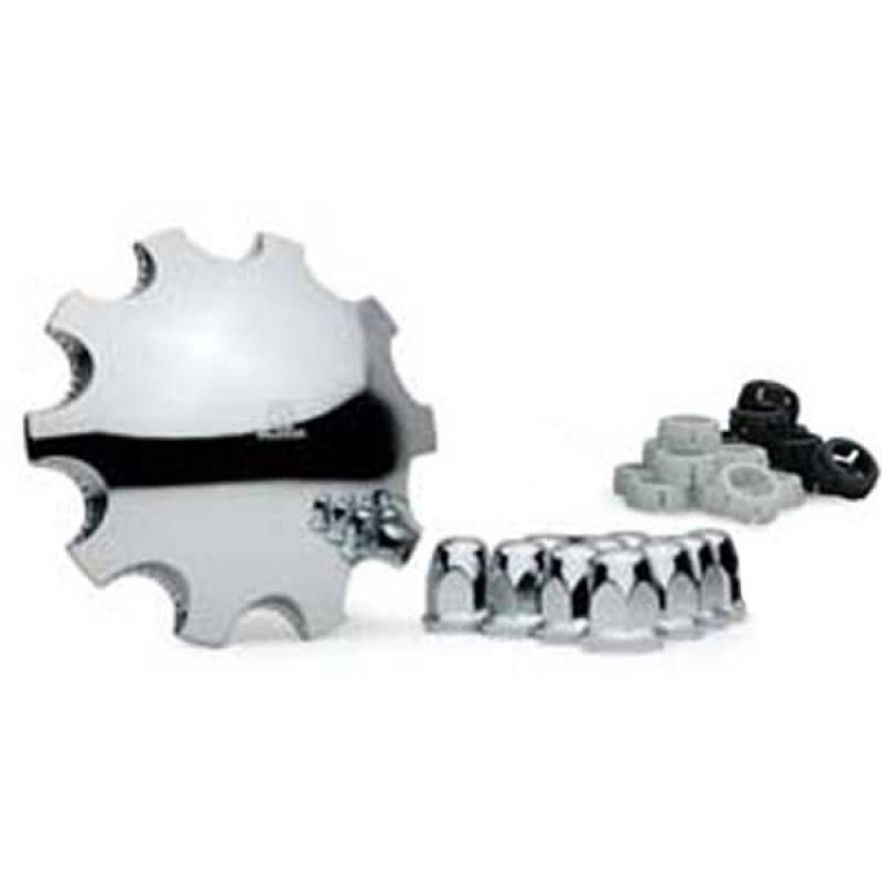 "Alcoa Front 10 Hole Stud Pilot Front Cover Kit for 1.5"" Lug Nuts"