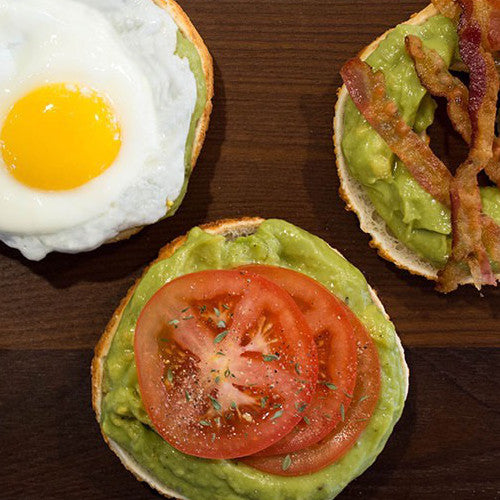 Bagelinos Avocado Toast, Gluten-Free, Bagels with Benefits