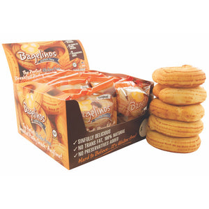 Bagelinos Bagel Display, Gluten-Free, 2.9 OZ, Healthy, Delicious, Certified