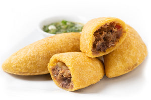 Empanadas, Box of 34, 3.2 OZ each, Ready-to-Eat, Gluten-Free