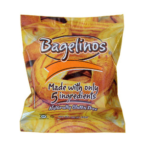 Bagelinos Bagel, Gluten-Free, 2.9 OZ, Healthy, Delicious, Certified