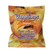 Bagelinos Bagels, lined up, Gluten-Free, 2.9 OZ, Healthy, Delicious, Certified
