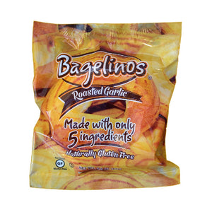 Bagelinos Garlic Bagel, Gluten-Free, 2.9 OZ, Healthy, Delicious, Certified