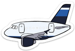 Jet Blue A 320 Sticker