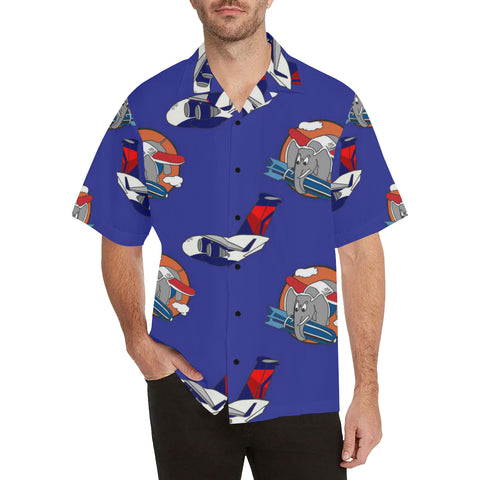 C-17 DAL WW2 Elephant Logo Hawaiian Shirt...SHIPPING INCLUDED!!!