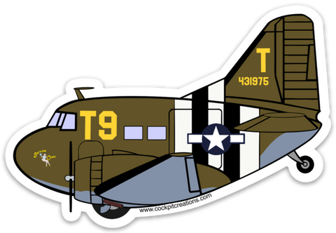 C-47 Southern Cross Sticker