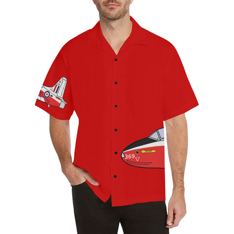 Jet Provost Red Hawaiian Shirt...Shipping Included!!!