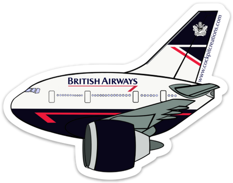 777 Retro BA Sticker