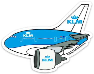 777 Flying Dutchman New Livery Sticker