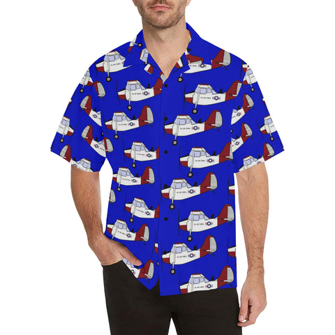 L-19 Blue Hawaiian Shirt...Shipping Included!!!