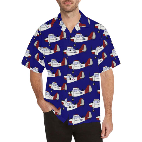 L-19 Dark Blue Hawaiian Shirt...Shipping Included!!!