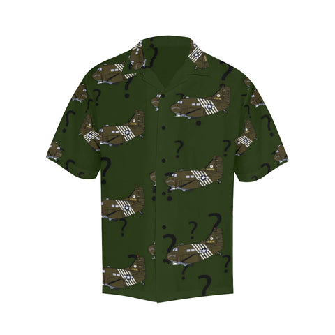 C-47 Hairless Joe Green Hawaiian Shirt...SHIPPING INCLUDED!!!
