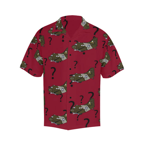 C-47 Hairless Joe Red Hawaiian Shirt...SHIPPING INCLUDED!!!