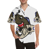 P-40 Shark Attack Hawaiian Shirt...SHIPPING INCLUDED!!!