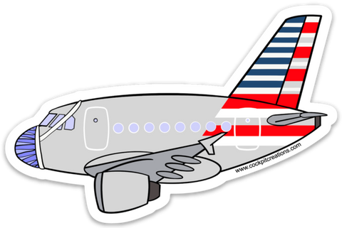 A 320 AA Mask Sticker