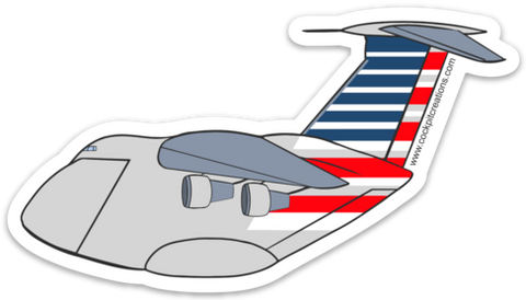 AA C-5 Galaxy Sticker