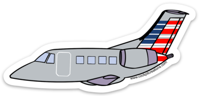 AE EMB-145 Sticker