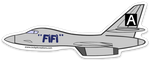 B-1 Fifi Sticker