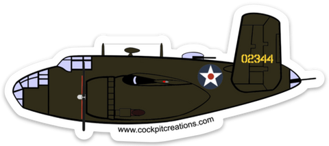 B-25 Doolittle Raider Sticker