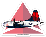 B-29 Delta Belle Widget Sticker