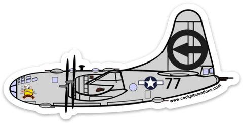 B-29 Bocks Car Sticker