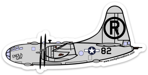 B-29 Enola Gay Sticker