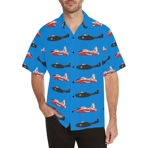Provost Vampire Light Blue Hawaiian Shirt...Shipping Included!!!