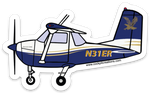 C-150 Embry-Riddle 31ER Sticker