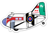 C-47 DTD Mask Sticker