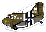 C-47 That's All Brother Sticker